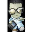 Geek, Halloween, Zombie icon