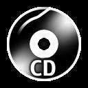 Black CD icon
