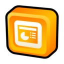 microsoft,office,powerpoint icon