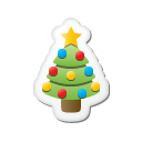 sticker, xmas icon