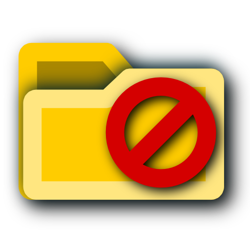 not, do, enter, folder icon