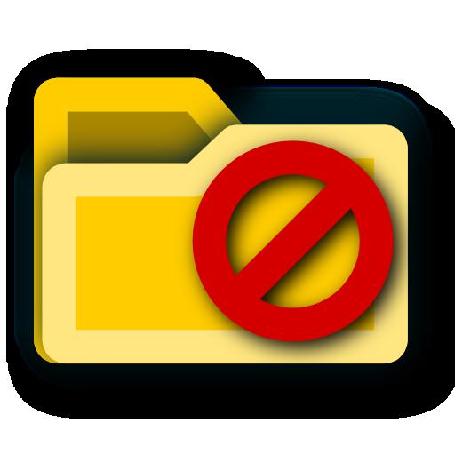 not, do, enter, folder icon