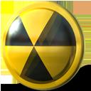 nuclear, burn icon
