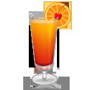 red, orange icon
