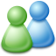 Live, Messenger icon
