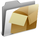 dropbox, box, folder icon