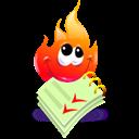 fire,cartoon icon