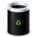bin,empty,garbage icon
