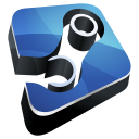 steam, hp icon