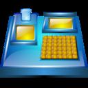 electronic billing machine icon