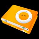 ipod,shuffle,orange icon