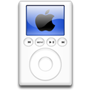 blue, mp3 player, ipod, alternative icon