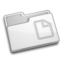 file, folder, paper, document icon