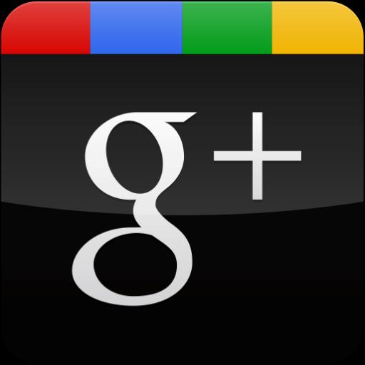 gloss, googleplus, black icon