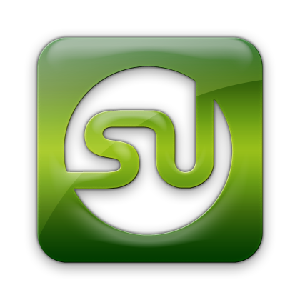 stumbleupon, logo, square icon