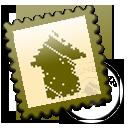 designbump,stamp,postage icon