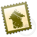 postage, designbump, stamp icon