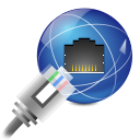 devices network wired icon