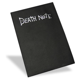 note, death icon