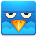 angry, social network, twitter, sn, social, square icon