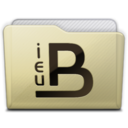 beige folder ieub icon