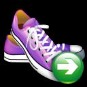 next, correct, right, arrow, shoes, yes, forward, ok icon