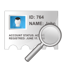 profile search icon