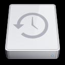 time, machine, mini, history icon