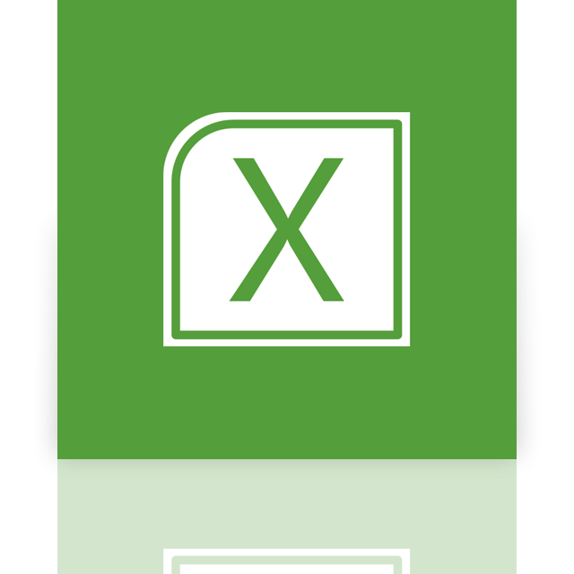 excel, alt, mirror icon