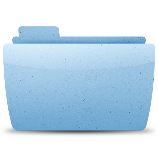 generic, paper, blue icon