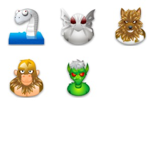 Myths icon sets preview