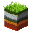 layers, bud icon