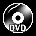 Black DVD icon