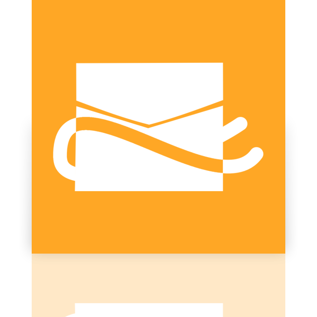 mirror, hotmail icon