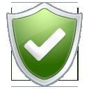 protection, shield, check, antivirus icon