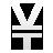 cur, yen icon
