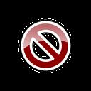 del, remove, delete icon
