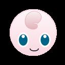 go, monster, pokemon, jigglypuff, cute icon