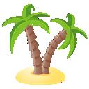 tree, palm icon