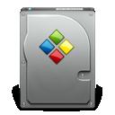windows, or, bootcamp, hd icon