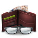 wallet, advertising, money, euro icon