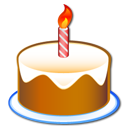 party, 60 jears, birthday, cake icon