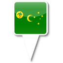 cocos, island icon