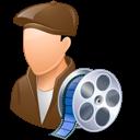 Filmmaker, Light, Male icon