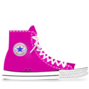 converse,pink icon