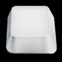 blank keyboard key icon