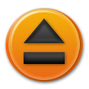 toolbar, eject icon
