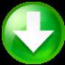 Circle down icon