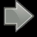 right,grey,next icon