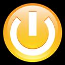Button, Log, Off icon